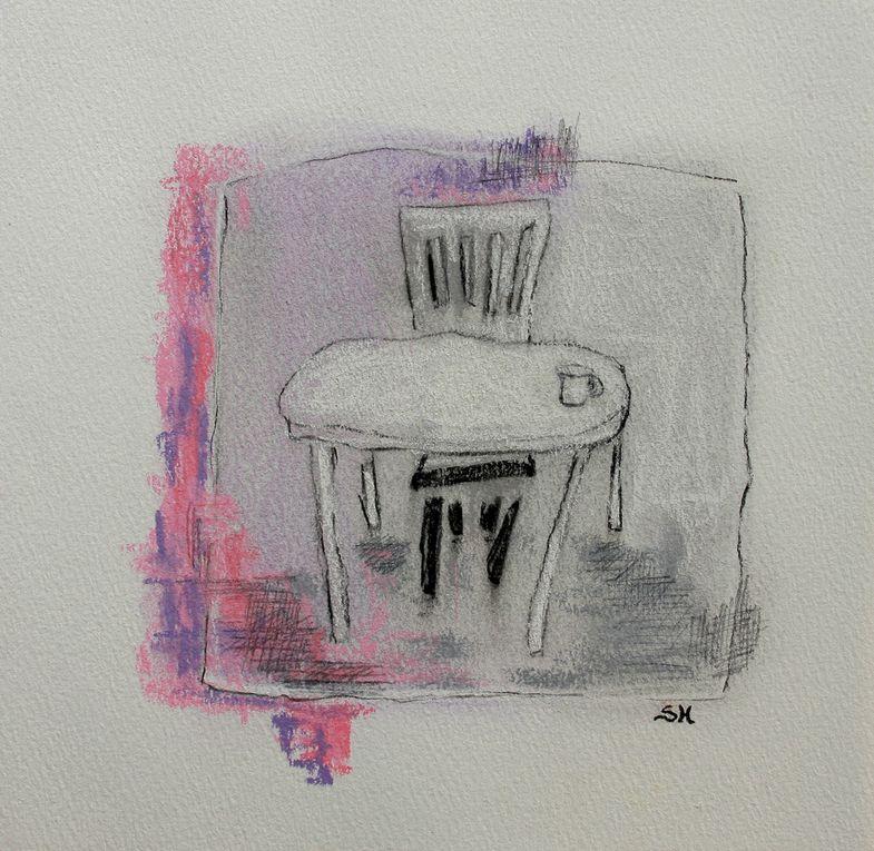 Peintures et dessins 2010-2011 Sophie Hamel-Galvao