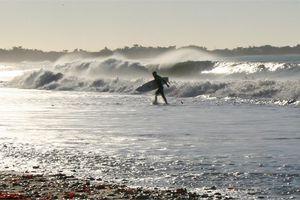 200 surfeurs à la plage des Baleines pour l'armistice 2011