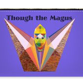 Though The Magus Text Carry-all Pouch for Sale by Michael Bellon