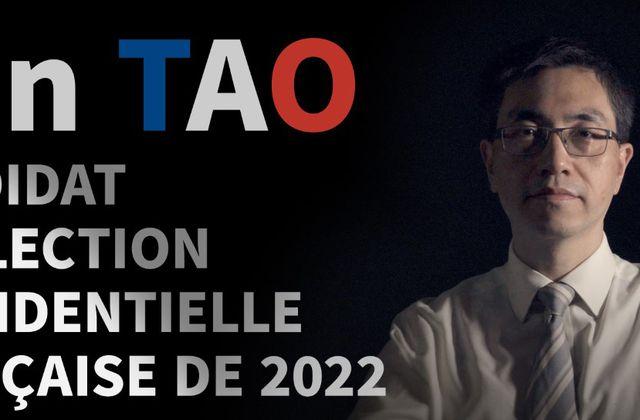 bande annonce de la chaîne de Yun Tao, candidat à l'élection présidentielle française de 2022