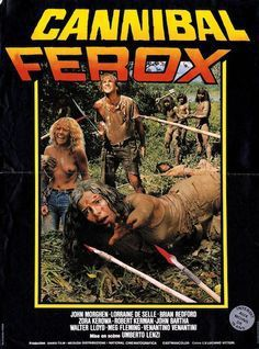 CANNIBAL FEROX ou MAKE THEM DIE SLOWLY - Bande annonce : https://youtu.be/FbBLMPHniI8