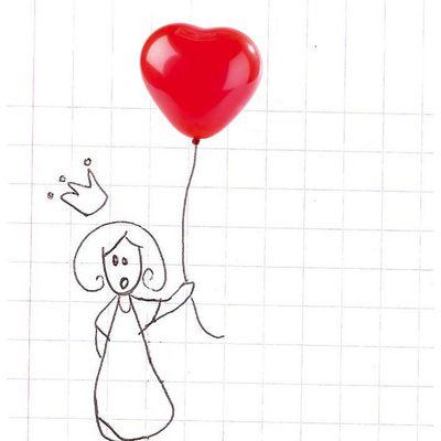 Une princesse s'est perdue dans mon cahier