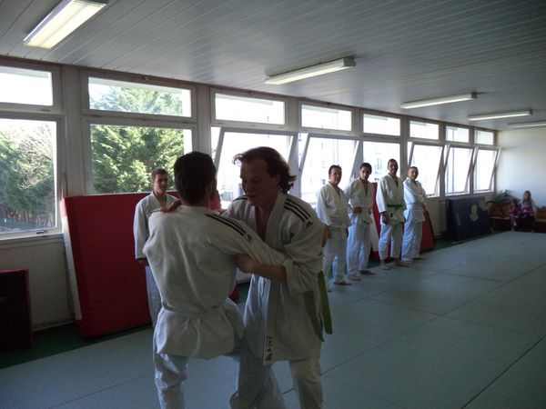 Stage de Self-défense 2015 au Uranami dojo