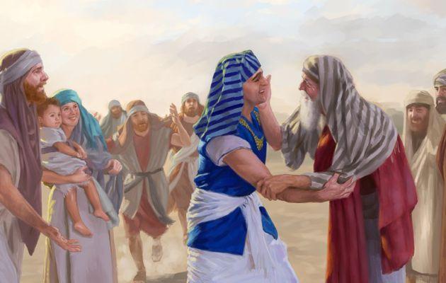Et les fils d'Israël descendirent en Egypte