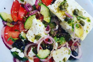 """Salade Grecque,  """"Horiatiki Salad"""""""