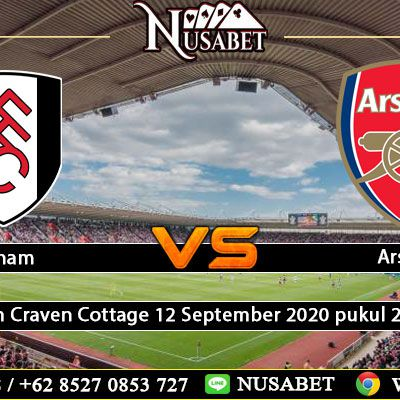Prediksi Fulham Vs Arsenal 12 September 2020