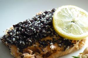 Pavé de saumon au pavot