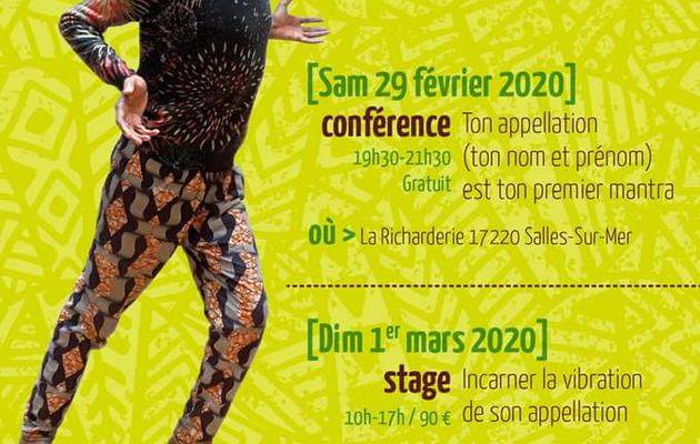 Conférence et stage sur le Longo avec Elima les 29 février et 1er mars 2020