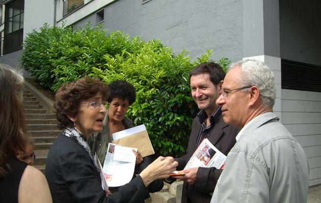 Martine Durlach et Pierre Mansat