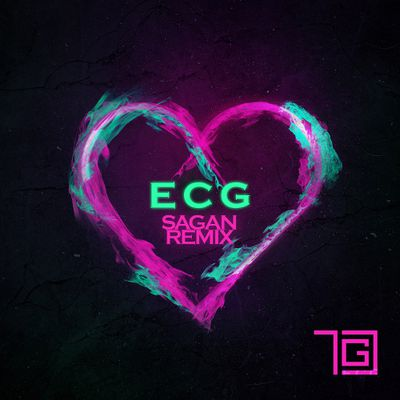 "Sagan remixes TGC's immersively fierce single ""ECG"" !"