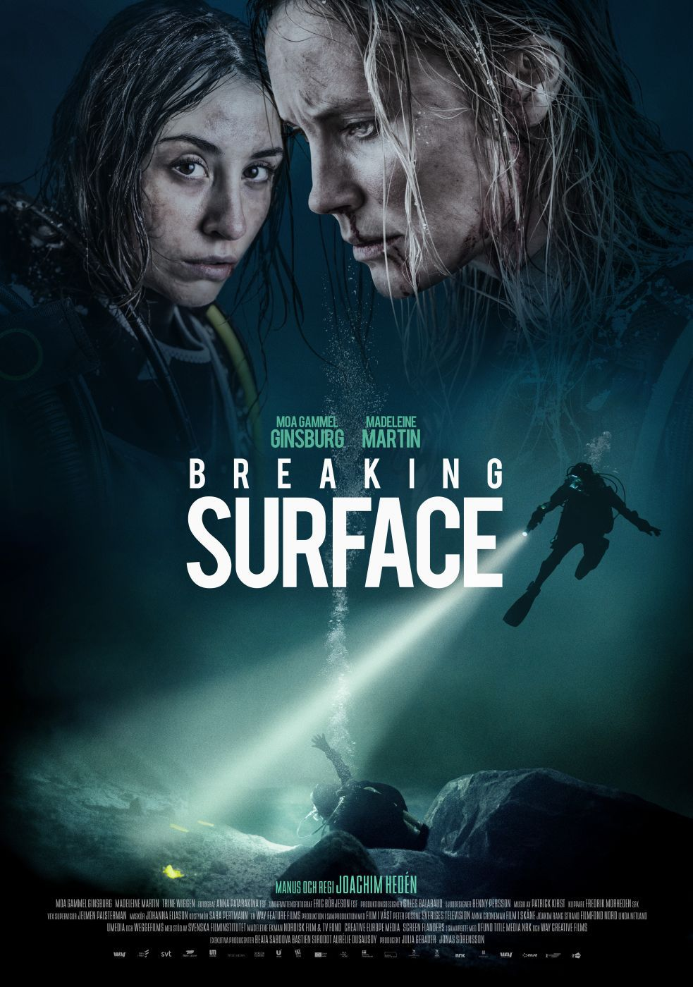 PIEGEES SOUS LA GLACE (Breaking surface)