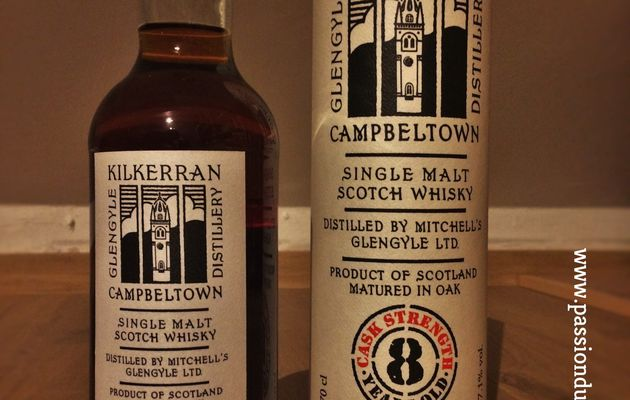 Kilkerran 8Y - Cask Strength