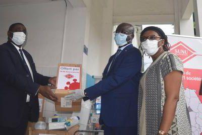 SUNU Assurances engagé dans la lutte contre le Covid19 au Cameroun
