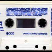 Cassette compilation publicitaire ECCO - 25 années de succès - 1989 - l'oreille cassée