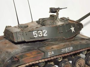 M41 Walker Bulldog, Tamiya 1/35ème.
