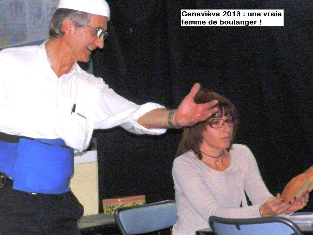 Huit années de lectures spectacle de juillet 2010 à juin 2018