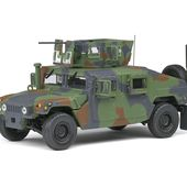 AM General M1115 Humvee - Green Camo - 1983