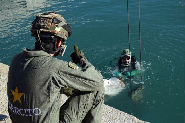 Molfetta:Artificieri dell'11°Reggimento Genio Guastatori di Foggia distruggono 9 residuati bellici