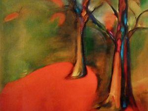 """""""Martine"""" - Peinture à l'Huile."""