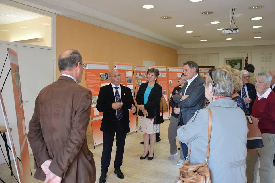 """UNC : inauguration de l'Exposition """"Le service de Santé dans la Grande Guerre"""" à Saint-ISMIER"""