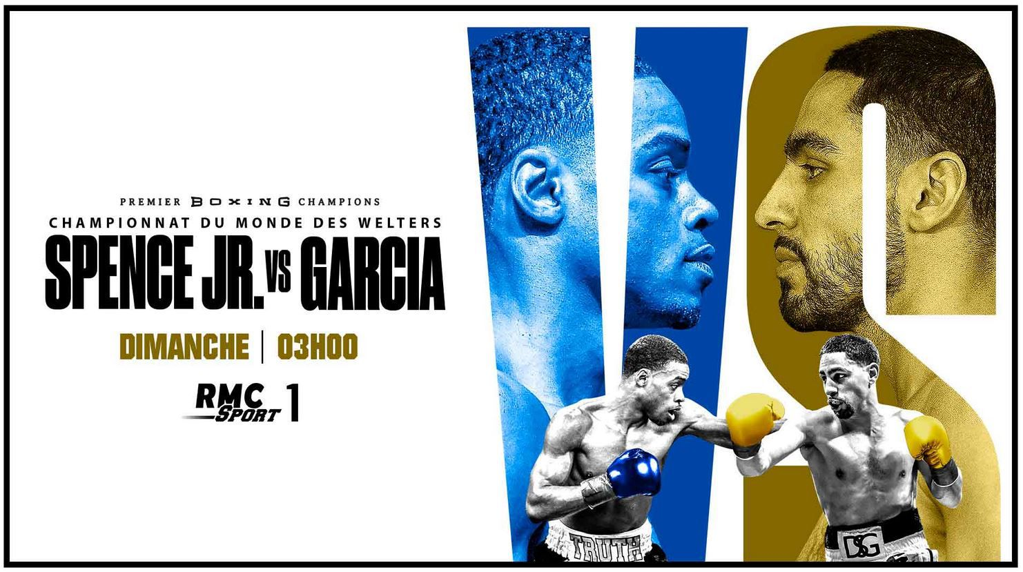 Errol Spence Jr. vs Danny Garcia et No Limit XIV en direct samedi sur RMC Sport !