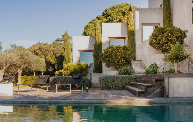 Une villa à Saint-Tropez
