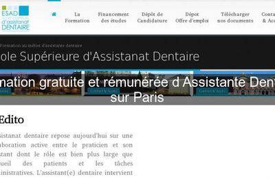 Formation assistante dentaire paris