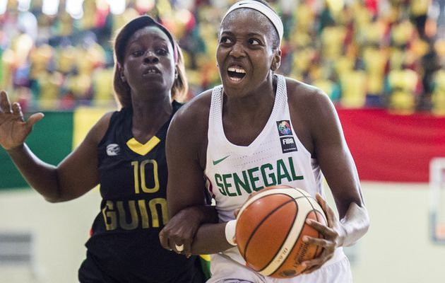Afrobasket féminin 2017 : les highlights du match Sénégal - Guinée