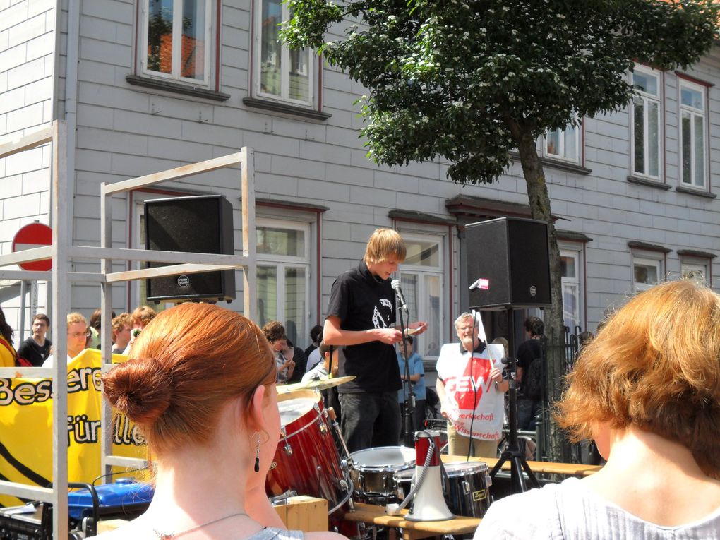 Bildungsdemo Walsrode 9.6.2010 Fotos: DGB Kulturarbeitskreis  SFA