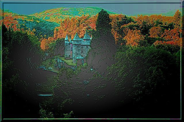 Diaporama château du CHAMP - Altier
