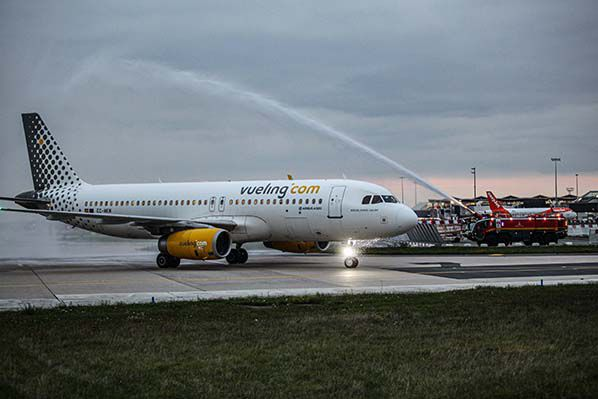 Visuel Vueling_Aéroport Orly_Maxime Letertre-Groupe ADP aerobernie