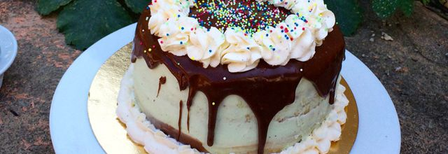 Layer cake Pistache/Nuttela