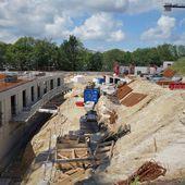L'avancement du chantier de l'EHPAD des Oiseaux, rue de Vendée à Penhars - Penhars Infos Quimper