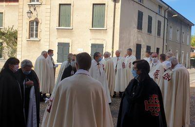 Messe de rentrée des chevaliers du Saint Sépulcre