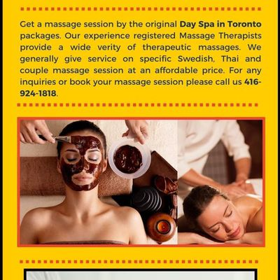 Day Spa in Toronto packages available on special discount price: King Thai Massage