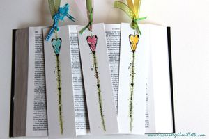 Marque-pages à l'aquarelle_Embrace Imperfection