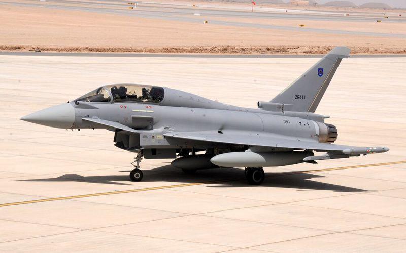 Oman réceptionne ses deux premiers Eurofighter Typhoon