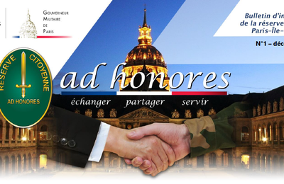 Bulletin Ad Honores N°1 - Décembre 2020