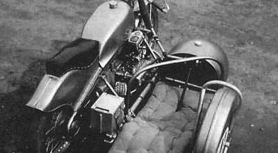 Une BMW 4 cylindres ACT en 1945
