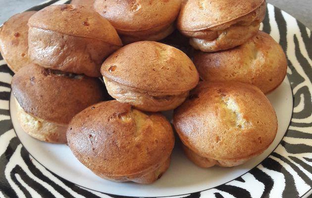 ... les mini-clafoutis-muffins banane healthy