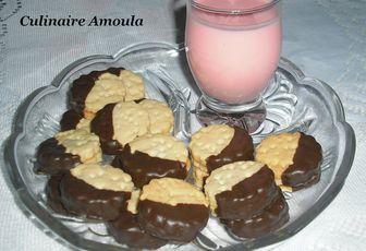 Biscuits au yaourt liquide