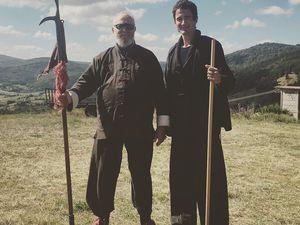 Laoshi avec Maitre Yuan Hong Hai (Ecole Jing Wu) et Georges Charles (Ecole San Yiquan)