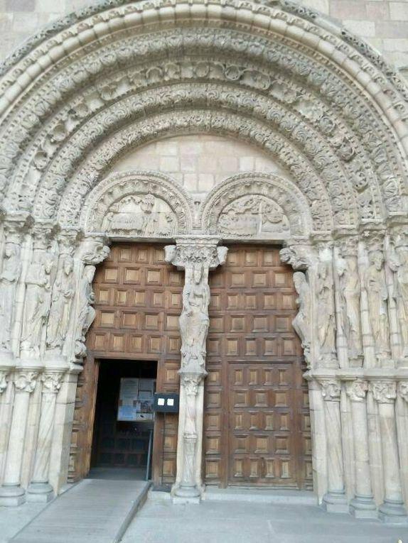 Avila : la basilique San Vicente.