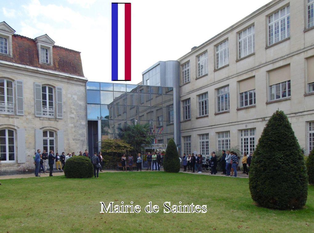 30 - M.V.C.G Vétérans de la mémoire 39-45. Hommage Chirac Saintes