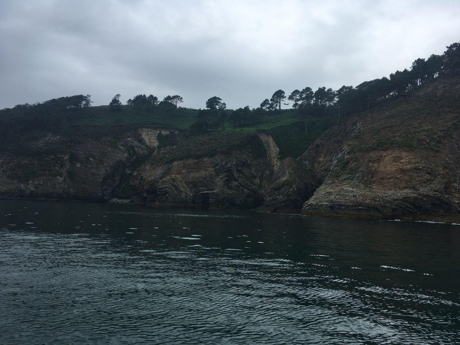 19 juin 2021 : cap de la chèvre et anse de St-Nicolas en bateau