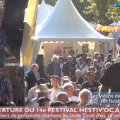 Des chants pour l'ouverture du 14e Hestiv'Oc à Pau (17 août 18) | HPyTv La Télé de Pau