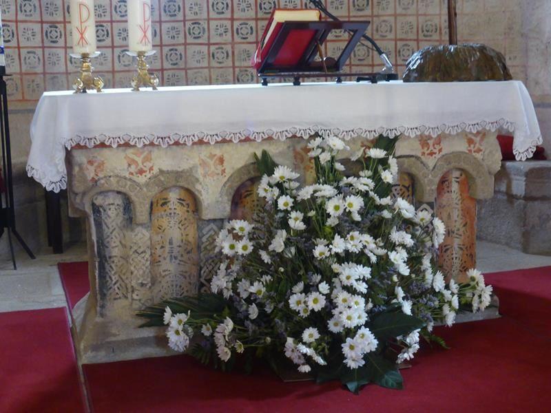 A la sortie de Mélide...la petite église Santa Maria...
