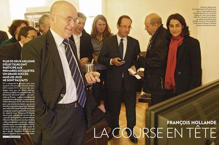 Olivier Faure, candidat à la présidence du PS et le bilan de François Hollande.