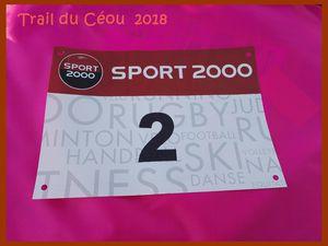 Trail du Céou 2018. Saint-Germain du Bel Air.