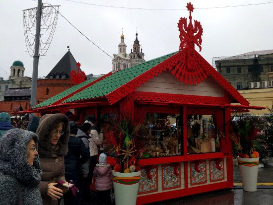 Maslenitsa à Moscou : en attandant l'heure H